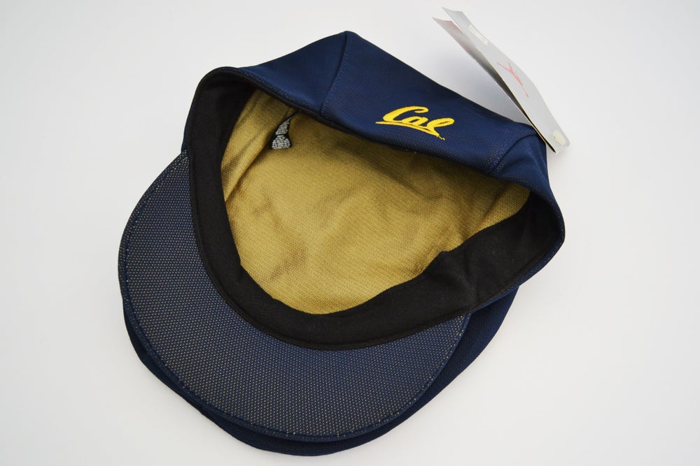 Image of Vintage 1998 California Golden Bears Jordan Brand Paperboy Hat Sz.M