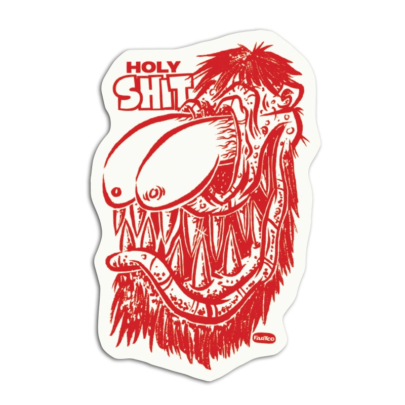 Image of Holy Shit Sticker