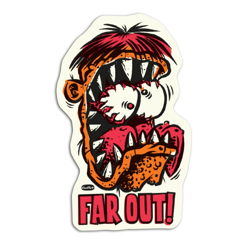 Image of Fart Out Sticker