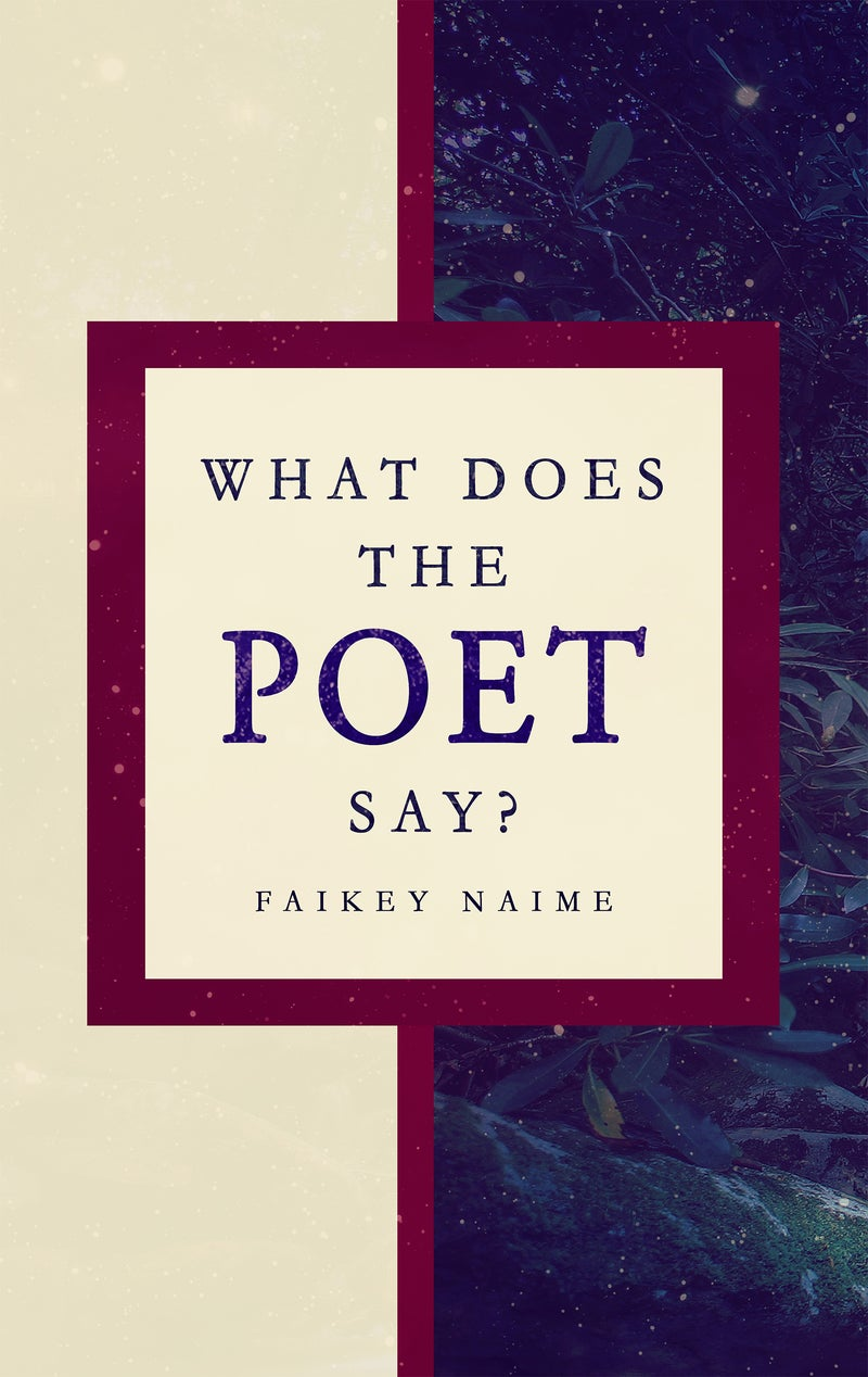 """Image of """"What Does The Poet Say?"""""""