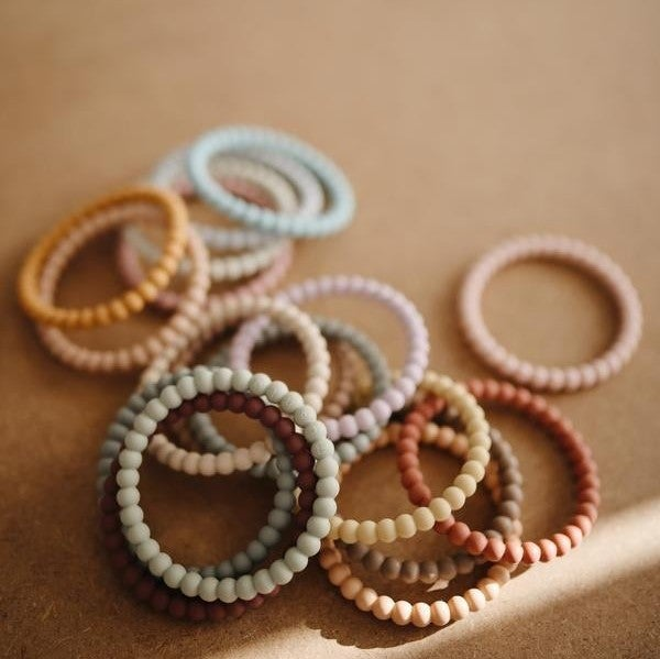 Image of Pearl Teething Bracelets (Set of 3)