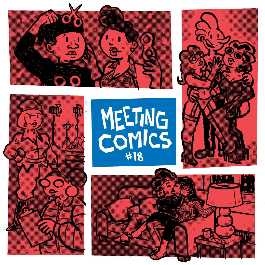 Image of Meeting Comics #18