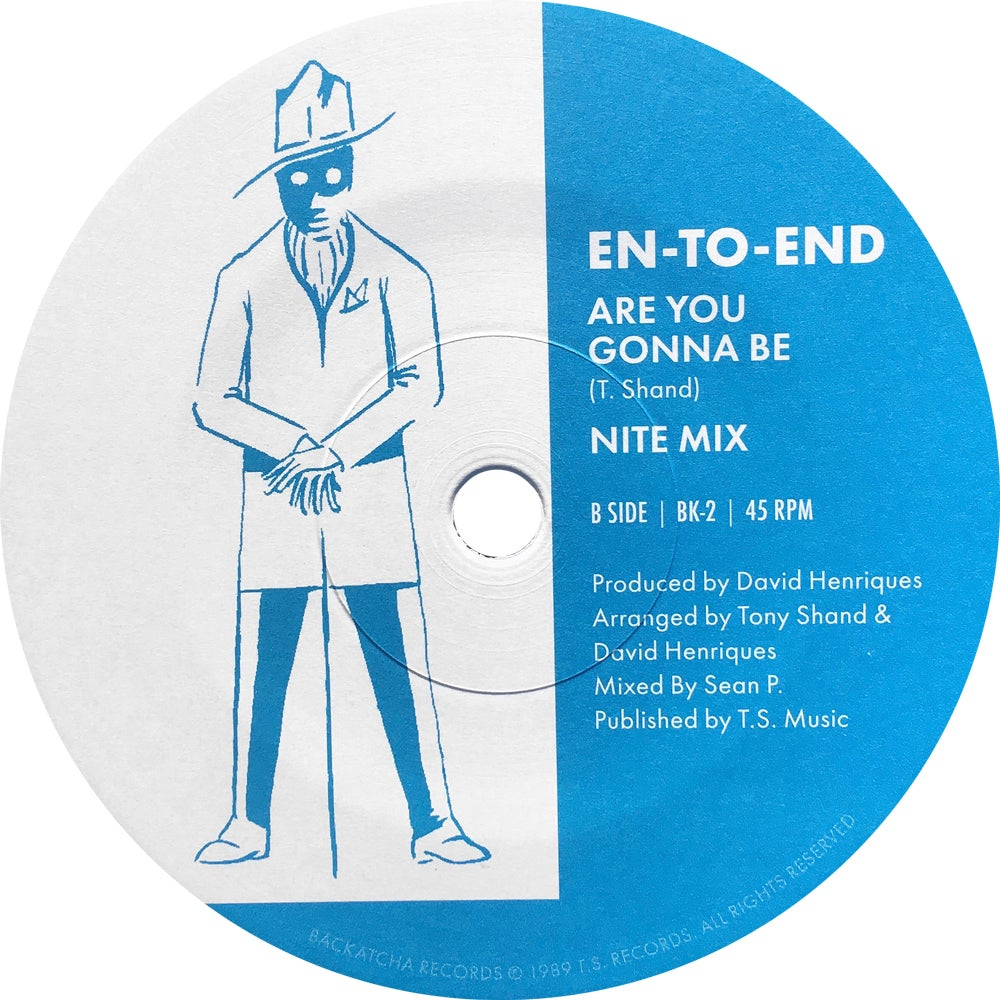 """Image of Ltd 300 Copies En-To-End 7"""" Money Talks Mood Mix / Are You Gonna Be Nite Mix"""