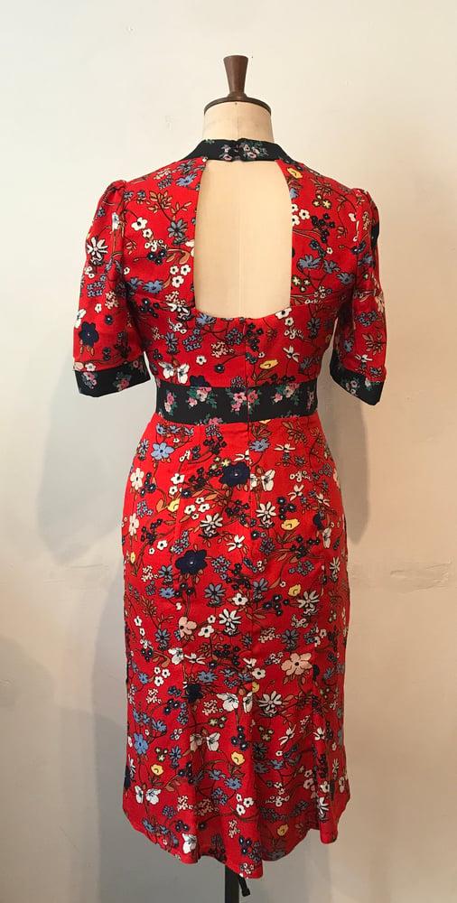 Image of Delphine tea dress