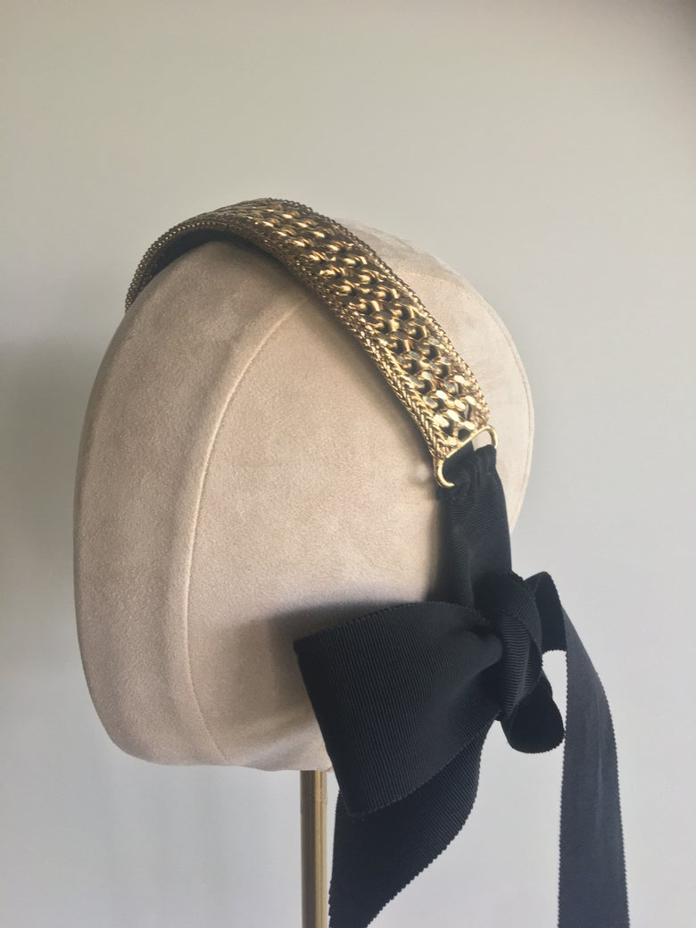 Image of Chic gold headband