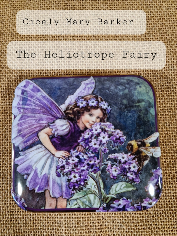 Image of Flower Fairy Tin - Heliotrope Fairy