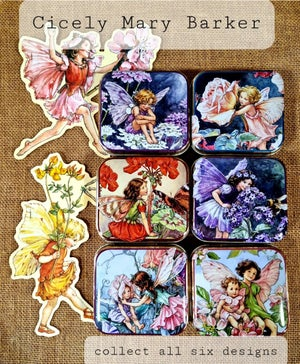 Image of Flower Fairy Tin - Geranium Fairy