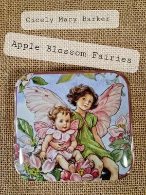 Image of Flower Fairy Tin - Apple Blossom Fairies