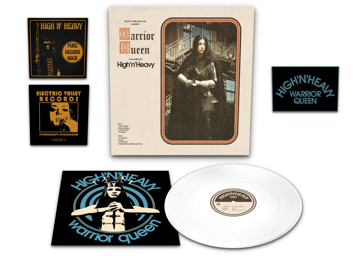 "Image of High n' Heavy - Warrior Queen Ultra LTD ""Shield Edition"" (Repress)"