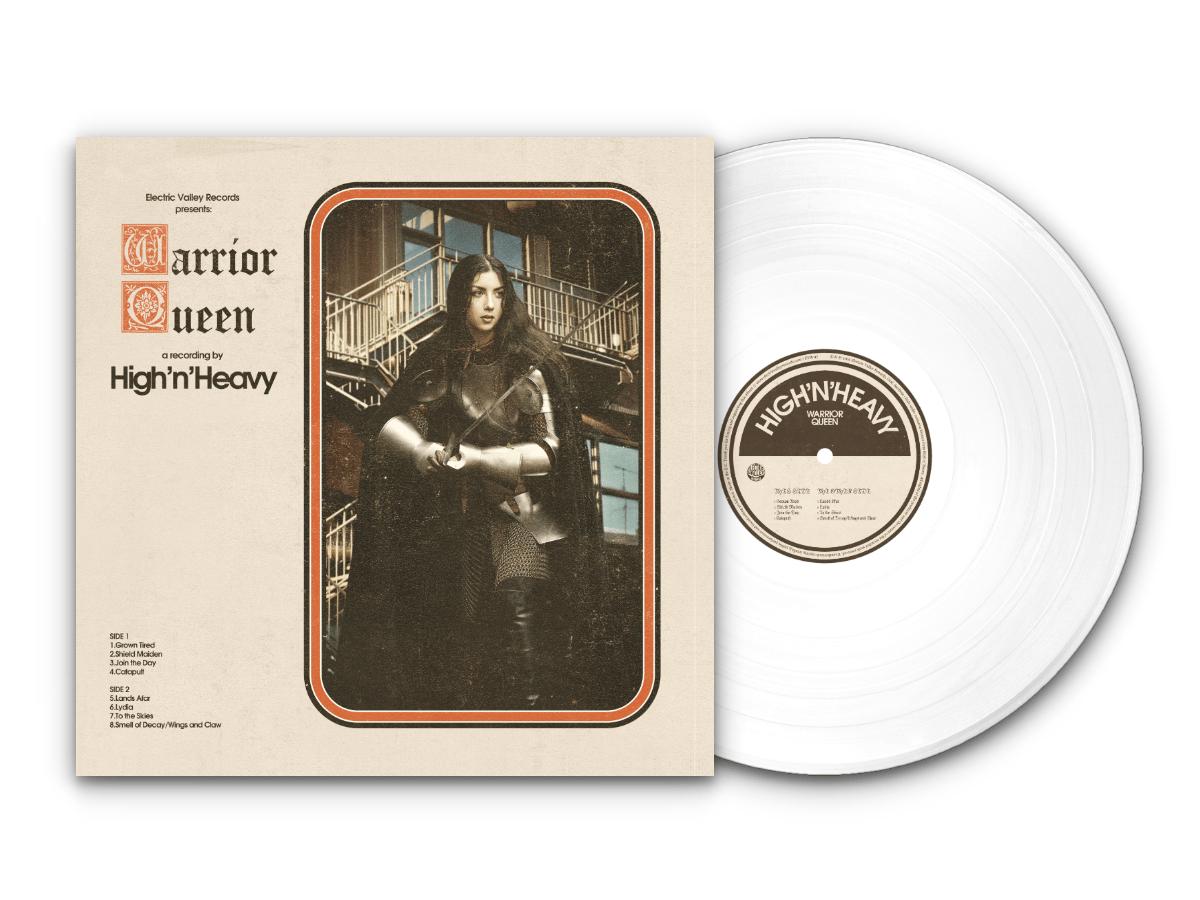 Image of High n' Heavy - Warrior Queen LTD White Vinyl (Repress)