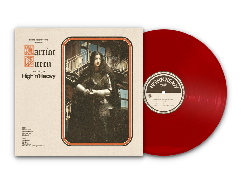 Image of High n' Heavy - Warrior Queen LTD Red Vinyl (Repress)