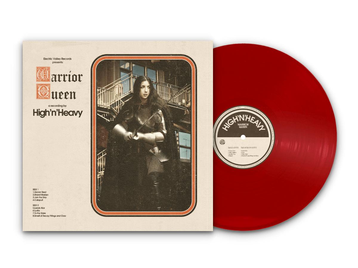 Image of High n' Heavy - Warrior Queen LTD Red Vinyl (Repress)