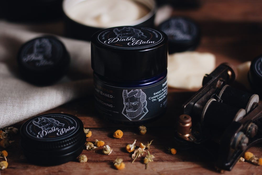 Image of Diablo Balm - Natural Tattoo Aftercare