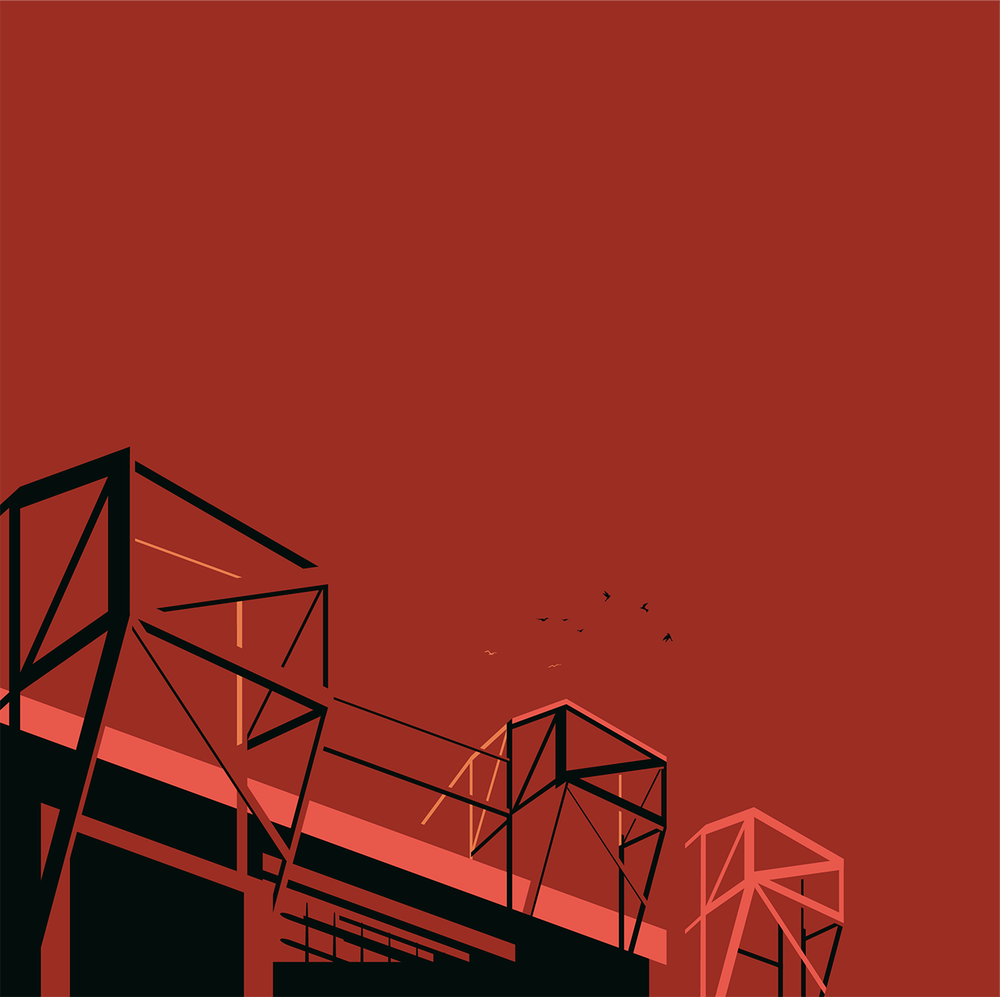 Image of OLD TRAFFORD ... HOME OF MANCHESTER UNITED