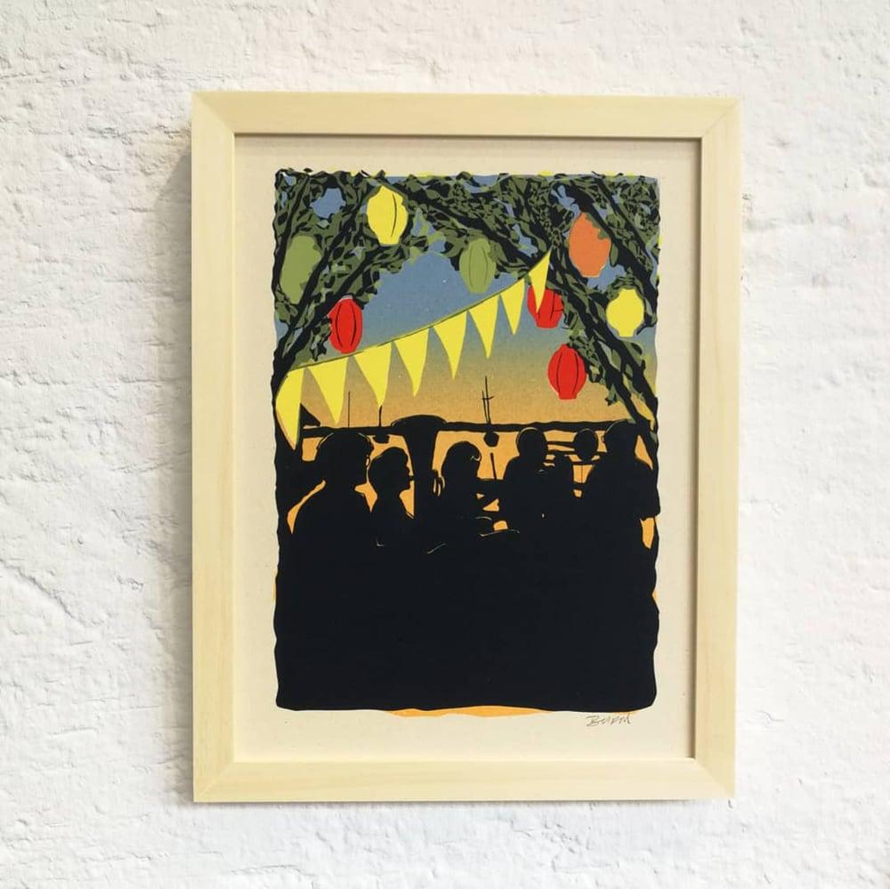 Image of KAPELLE AM SEE (mini-print)