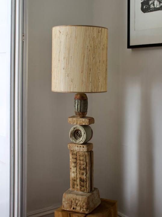 Image of Bernard Rooke Studio Ceramic TOTEM Lamp [II], England, 1960s