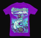 Image of Polar Bear Brawl Tee(Purple)