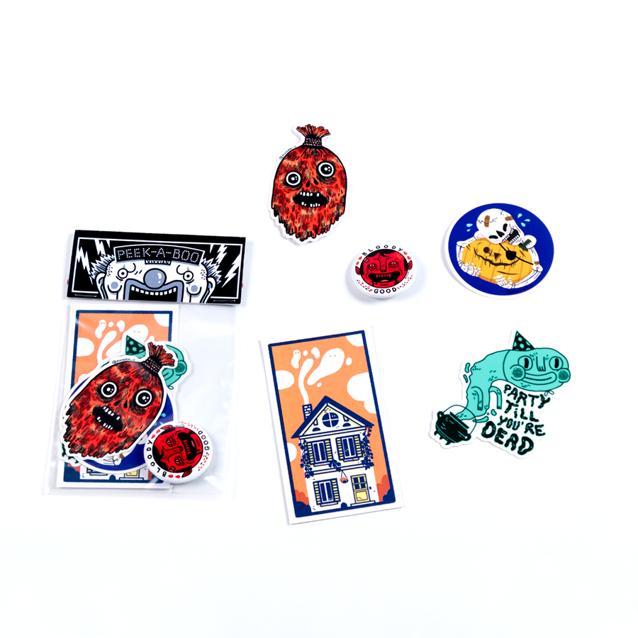 Image of Peek-a-Boo Pack (4 left)