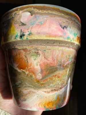 Image of Resin Cachepot #3