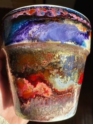 Image of Resin Cachepot #2