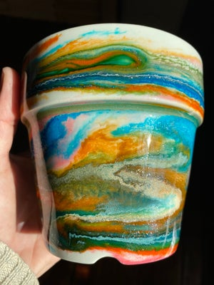 Image of Resin Cachepot #1