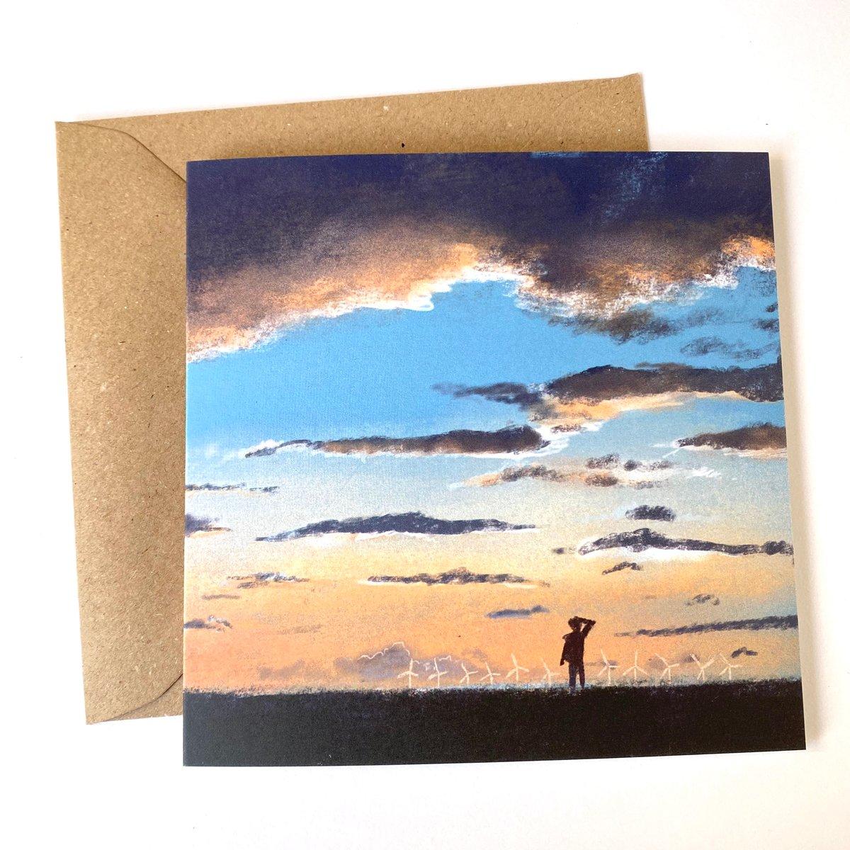 Image of Skies - set of 5 Luxury greetings cards