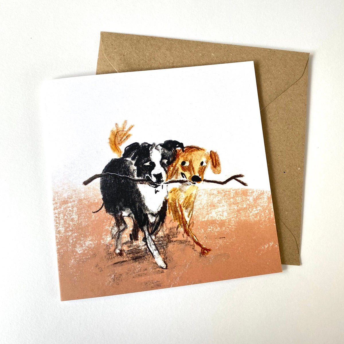 Image of Dogs - set of 5 Luxury Greetings cards