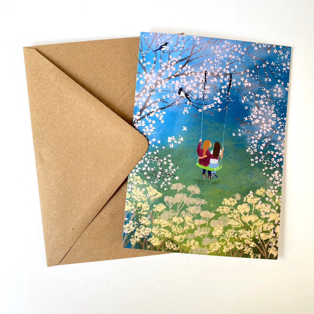 Image of Garden - set of 4 Luxury Greetings Cards