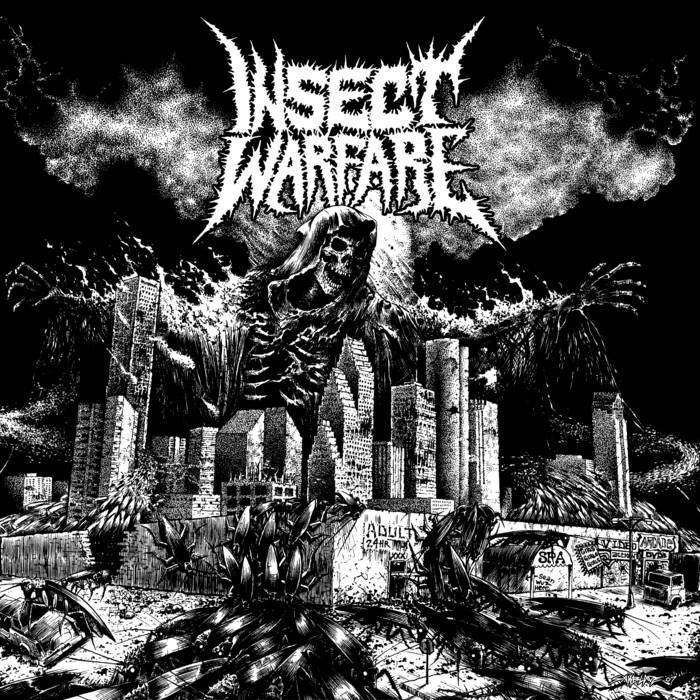 "Image of Insect Warfare - ""World Extermination "" LP"