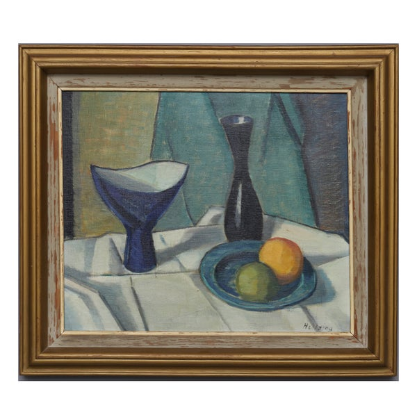 Image of Mid-century, Swedish Still Life Painting