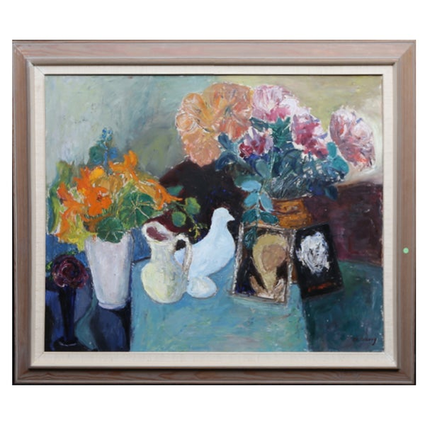 Image of Mid-century Swedish Still Life Painting, MARGIT SIBERG