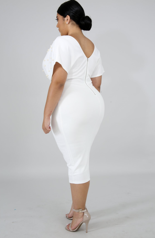 First Lady Dress in White
