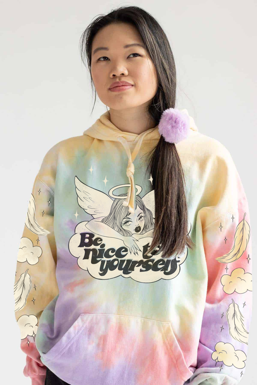 Image of BE NICE TO YOURSELF HOODIE