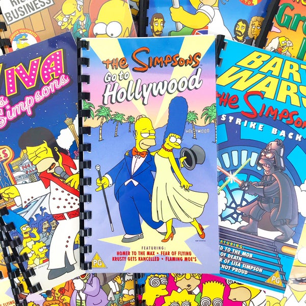 Image of Simpsons VHS Notepad