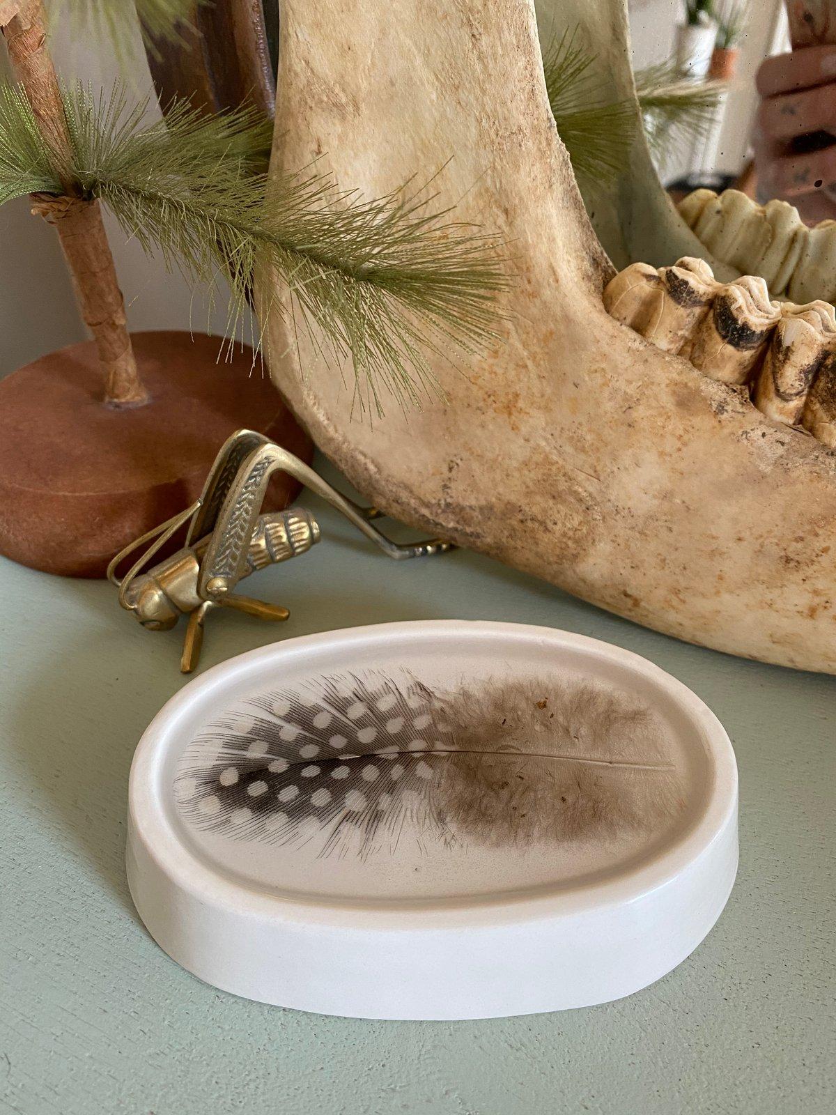 Image of Feather Trinket Dish