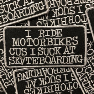 Image of I Ride Motorbikes... Patch
