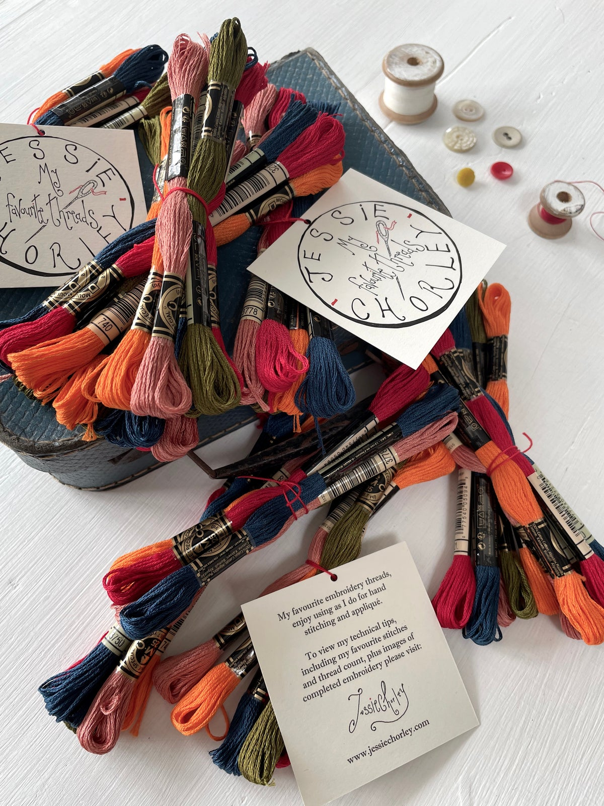 Image of 'My Favourite Embroidery Threads' colour choice ver-01