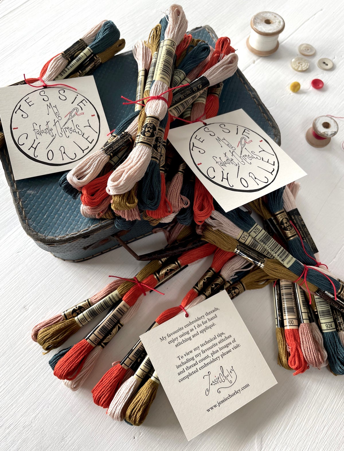 Image of 'My Favourite Embroidery Threads' colour choice ver-02