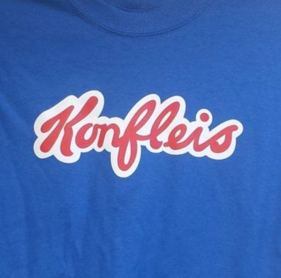 Konfleis YOUTH T-Shirt SMALL or MEDIUM, LARGE