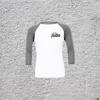Adult 3/4 Sleeve Baseball T-Shirt with Judo Logo