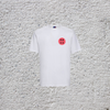 Junior White Russell T-Shirt with Sun Logo
