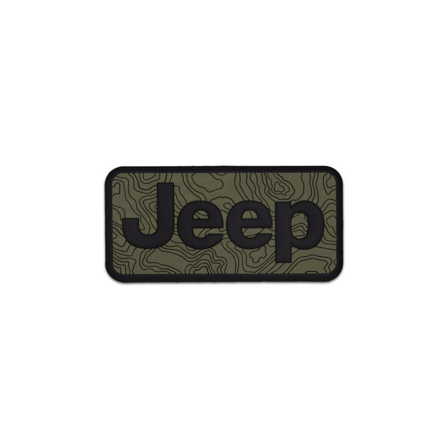Image of Car Series: Jeep Tamography™ Olive Drab Green Patch