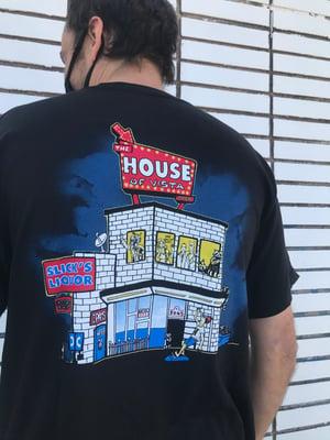 Image of Slicks Liquor X House t shirt