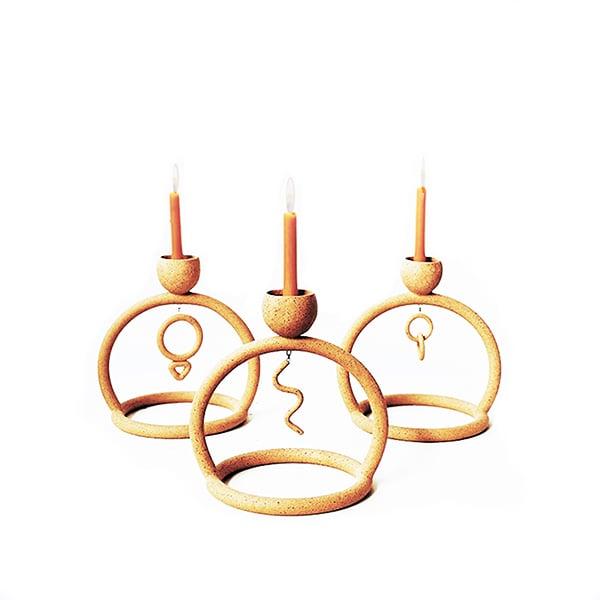 Image of Circle Candle Holder