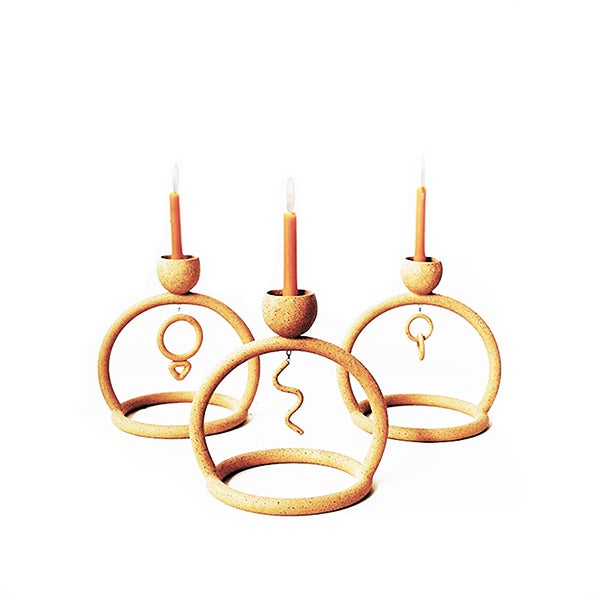 Image of Circle Candle Holder