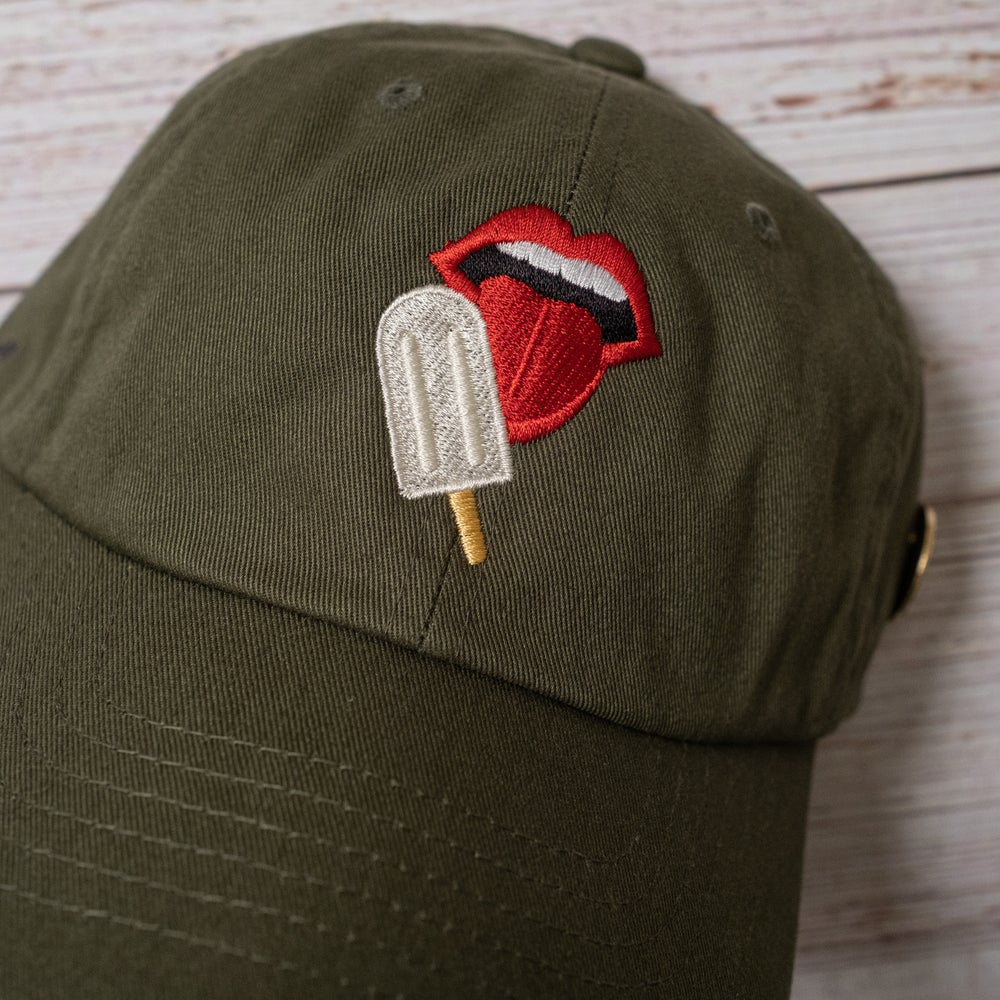 The Capsmith X The Paletero Mix Collab in Olive Night (Off-White Paleta)