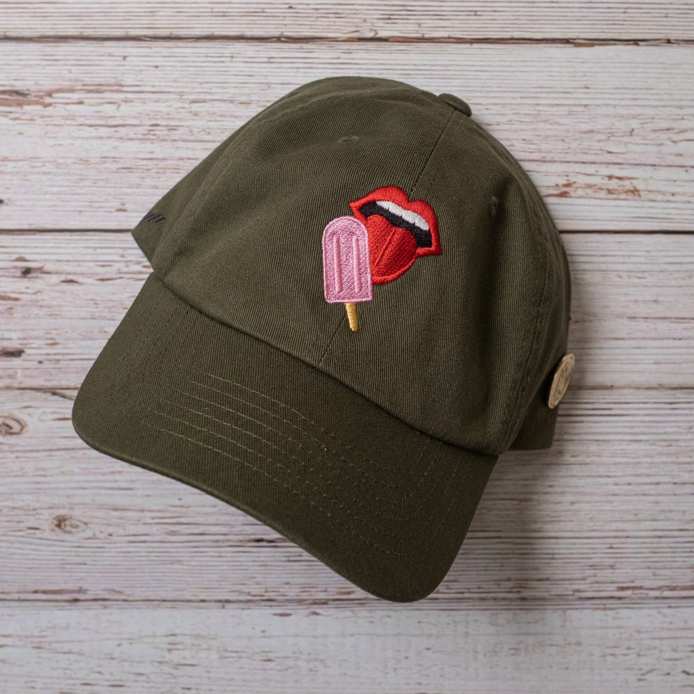 The Capsmith X The Paletero Mix Collab in Olive Night (Pink Paleta)