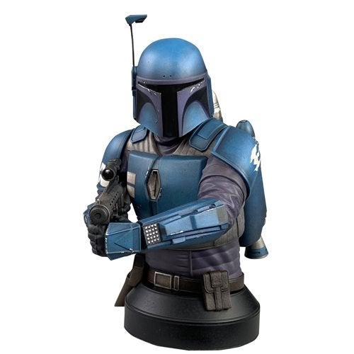 Image of  Star Wars Mandalorian Deathwatch 1:6 Scale Mini-Bust - Diamond Select Showcase Previews Exclusive