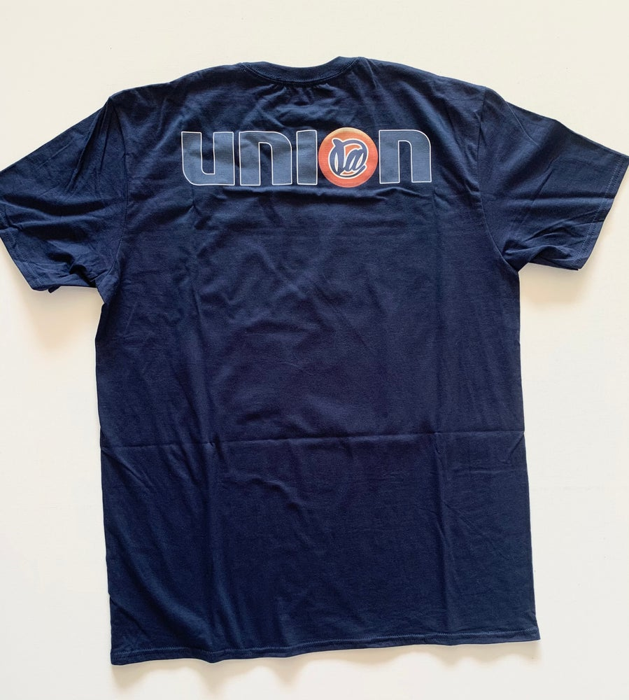 Image of @LA x 76 Navy T