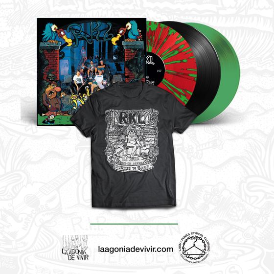 "Image of PRE-ORDER NOW!!! R.K.L. ""Riches to Rags"" BUNDLE (Lp + Tshirt)"
